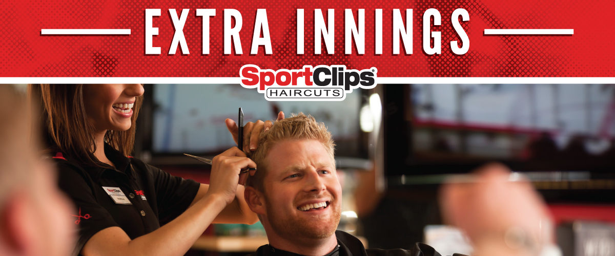 The Sport Clips Haircuts of Mt. Prospect  Extra Innings Offerings