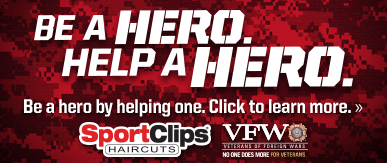 Sport Clips Haircuts of Mt. Prospect ​ Help a Hero Campaign